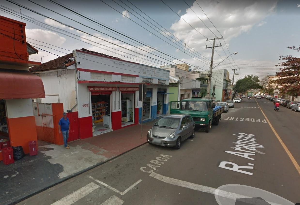 Imóvel R. Araguaia já alugado, contendo 2 salas comercias e uma casa no fundo.